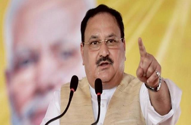 bjp the only party that understands its social responsibility nadda