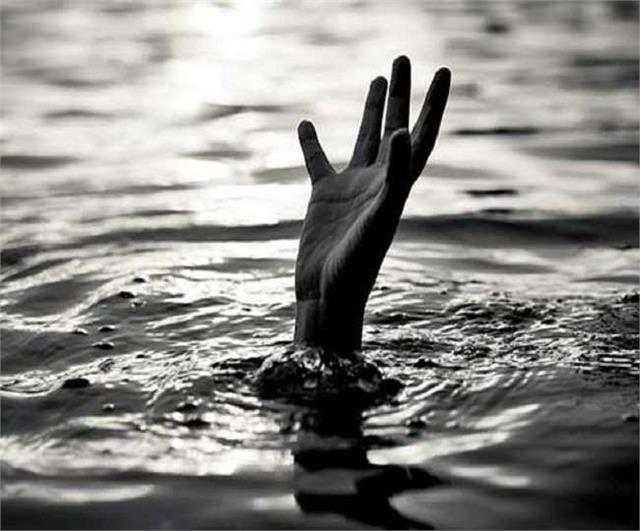death of 3 children drowning in pond in jaunpur