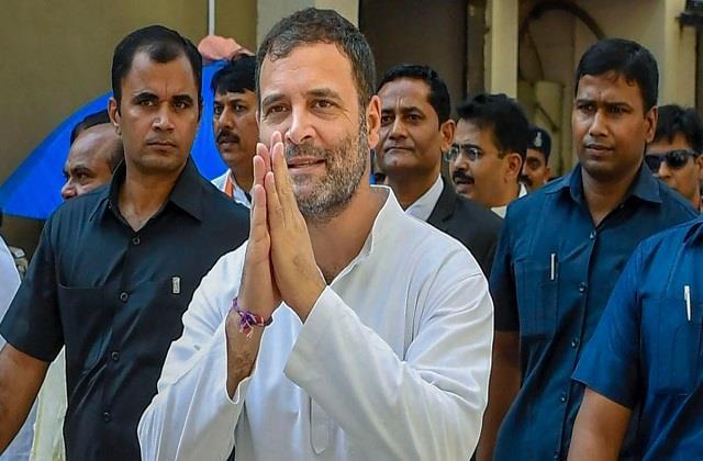 rahul gandhi will not celebrate birthday congress workers will help the needy