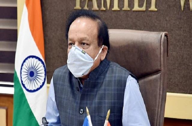 reduction in covid 19 cases should not be careless harsh vardhan