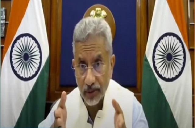 production of covid 19 vaccines needs to be increased significantly jaishankar