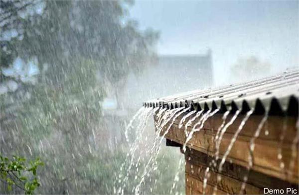 ambala city submerged in rain