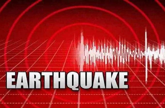 earthquake tremors in uttarakhand magnitude 3 4 on richter scale