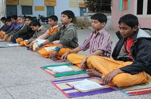there will be a shortage of teachers in sanskrit schools