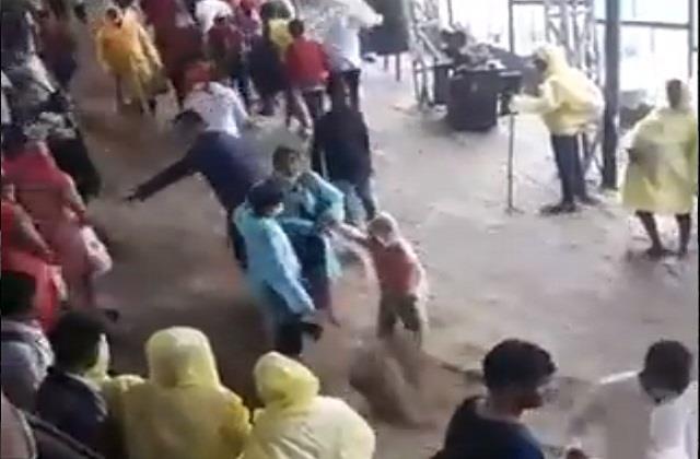 the fierce form of rain seen in mata vaishno devi