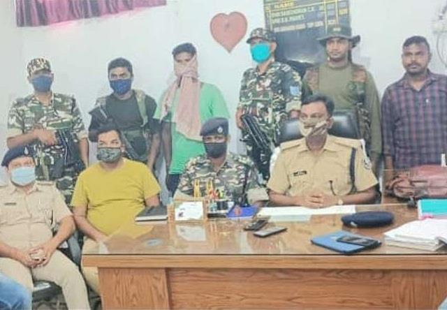 long absconding naxalite commander arrested