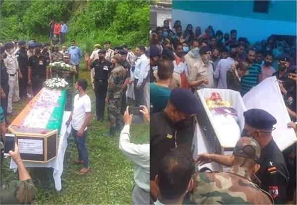 martyr kamal departed as a bridegroom family performed wedding rituals