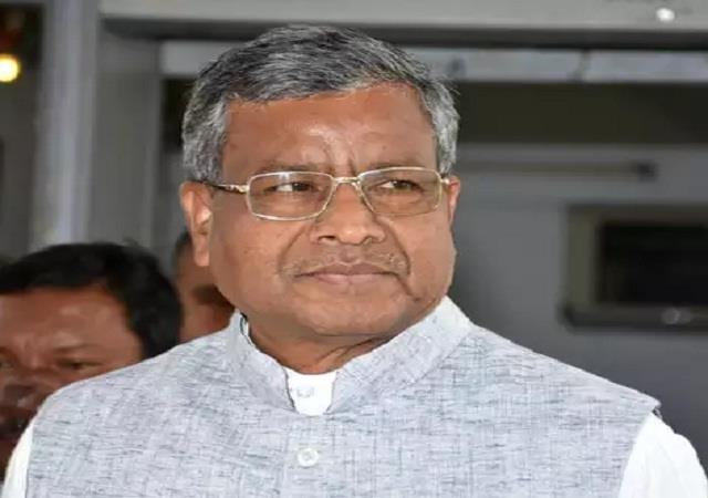 babulal s strong attack on congress