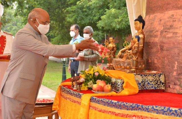 kovind says world battling covid 19 needs compassion mercy