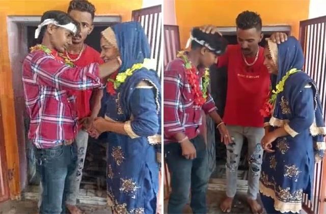 two girls got married among themselves