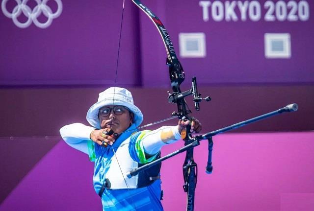 दीपिका कुमारी ने चलाए खूब तीर, विश्व चैम्पियन को मात देकर बनाई क्वार्टर फाइनल में जगह