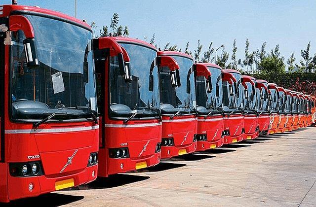 लंबे समय से वोल्वो बसों ने लगाई सड़कों पर दौड़, इन रूटों पर चलाई गई बसें -  volvo buses have run on the roads for a long time buses run on these