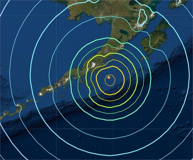 8 2 magnitude earthquake strikes alaska tsunami warning issued