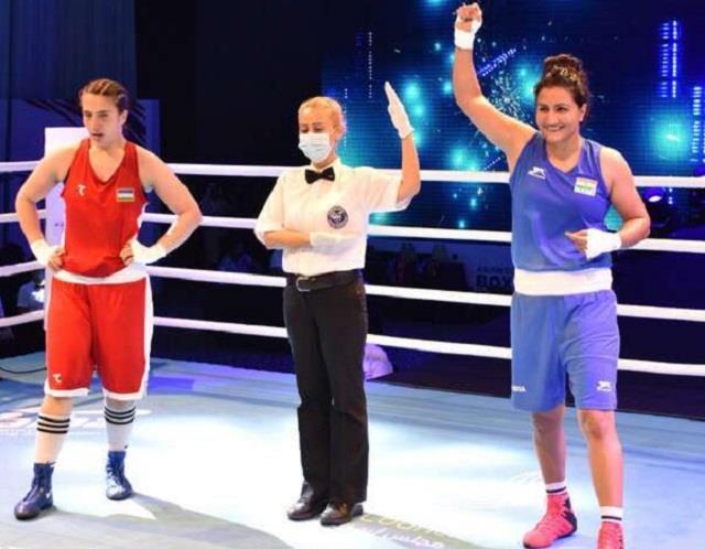Tokyo Olympic: मेडल से एक कदम दूर पूजा रानी, अल्जीरियाई बॉक्सर को पछाड़ पहुंची क्वार्टर फाइनल