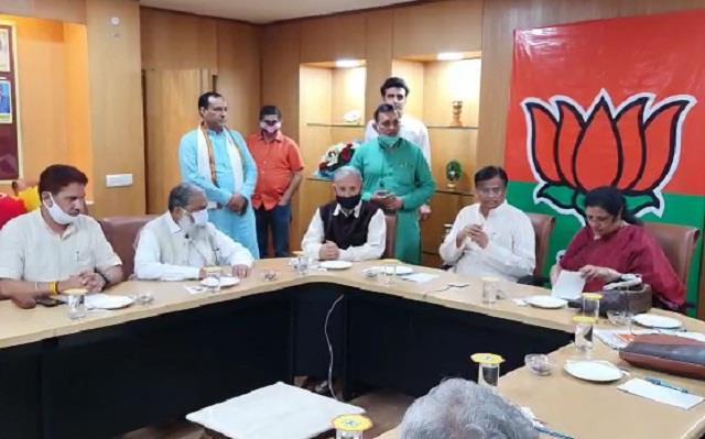 haryana bjp core committee meeting ends