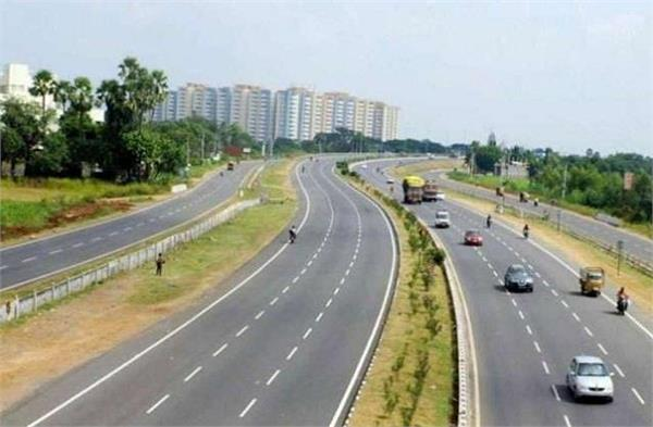 13 327 km of national highways were constructed in the year