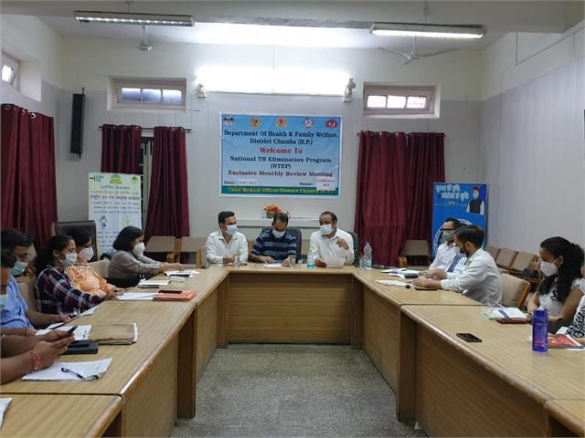 tb will be found in chamba from august 1 patients of