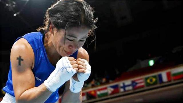 टोक्यो ओलंपिक से बाहर हुई मैरीकॉम, आंखों में आंसू और चेहरे पर दिखी मुस्कान