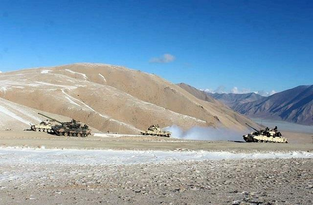 the indian army has deployed counter terror troops in eastern ladakh