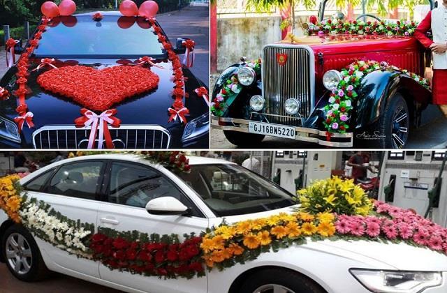 वेडिंग में यूनिक हो कार की डेकोरेशन, यहां से लें बेस्ट Ideas