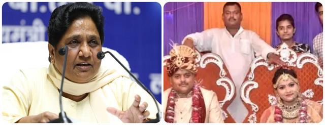 mayawati s masterstroke on  brahmin card  bsp to fight khushi dubey case