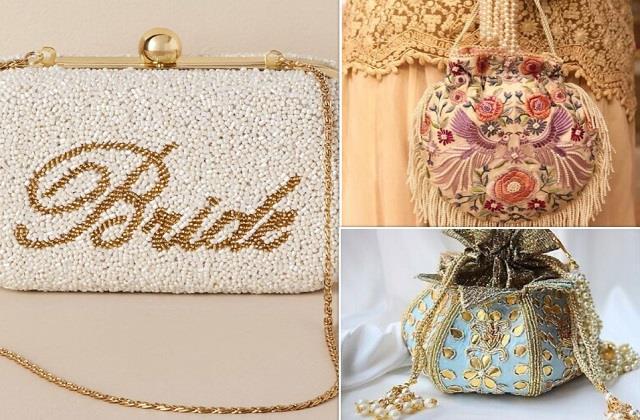 कल्च से लेकर पोटली तक, Bridal पर्स के लेटेस्ट डिजाइन्स