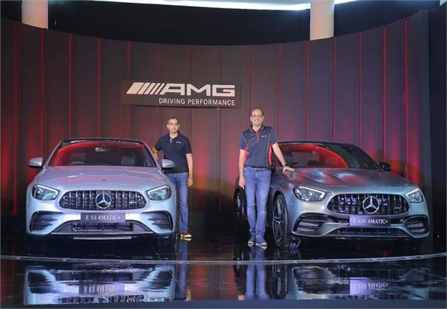 mercedes  2 new sedans amg e53 and e63 s launched priced at rs 1 02 crore