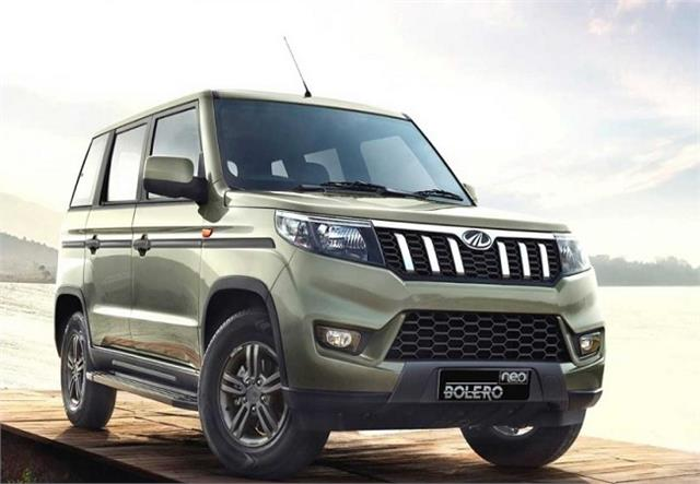 mahindra bolero neo launched in india priced at rs 8 48 lakh
