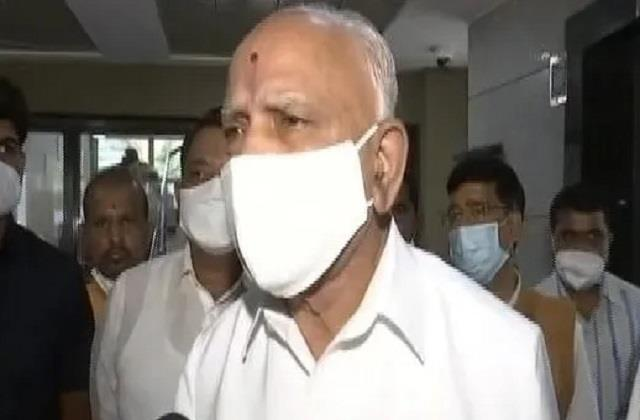 between the speculation of removal from the cm bs yeddyurappa said