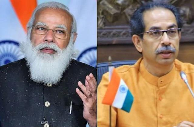 pm modi spoke to cm uddhav thackeray regarding the floods in maharashtra