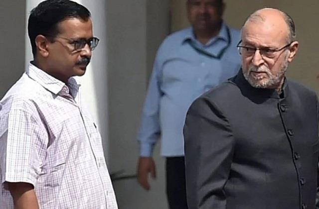 insult to delhiites  lg reversed cabinet decision cm kejriwal said