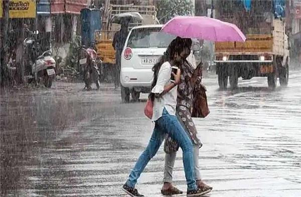 where is the possibility of rain including delhi up haryana himachal