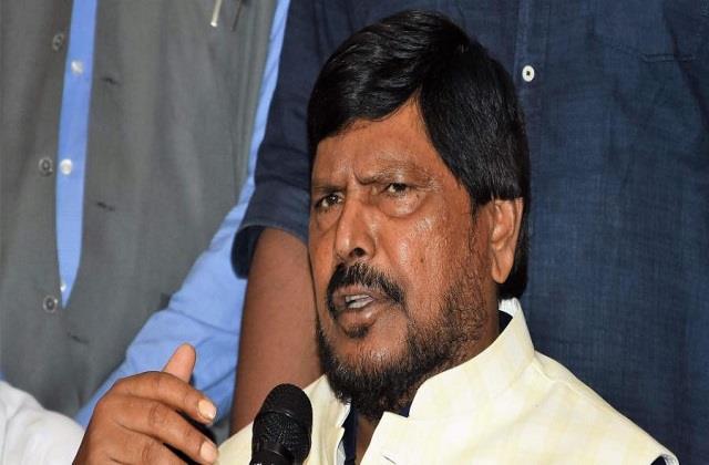 ramdas athawale said dalit vote of uttar pradesh is no longer with bsp