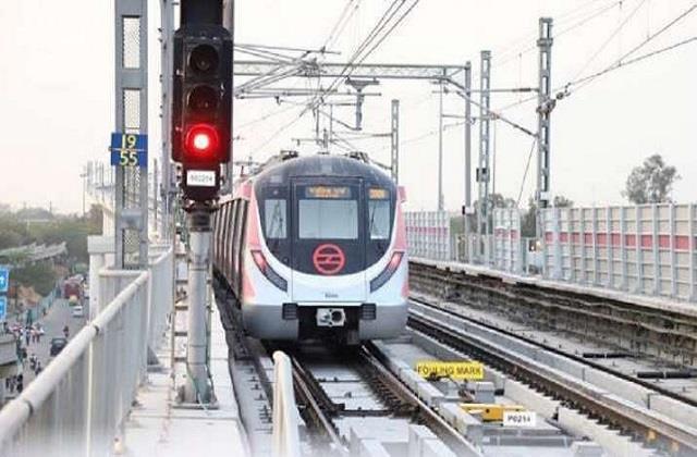 delhi metro issues advisory a day before the start of pink line segment