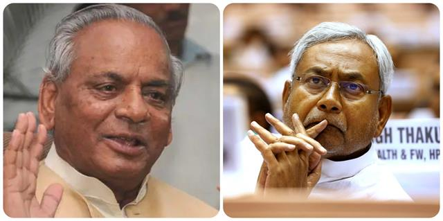 nitish condoles the death of former up chief minister kalyan singh