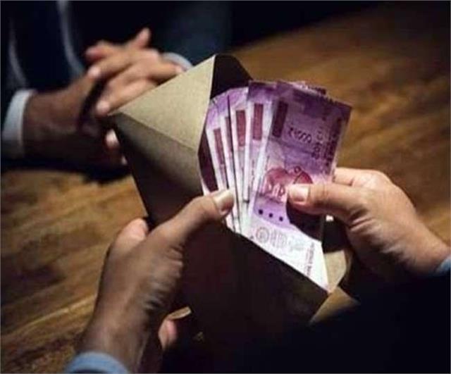 chapra sadar hospital clerk arrested for taking bribe