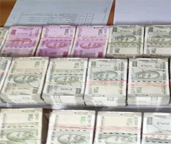 49 lakh recovered from the superintendent s private quarters
