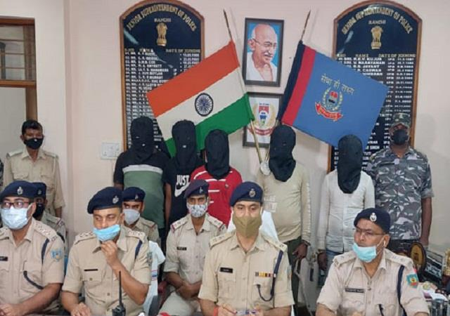 manoj jha murder case police arrested 5 criminals