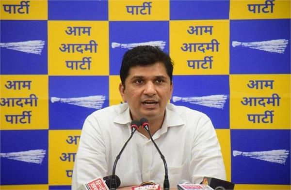 aap spokesperson saurabh bhardwaj targeted bjp