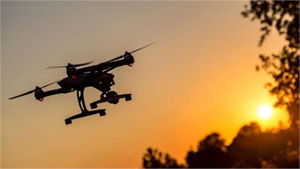 drone seen on indo pak border security agencies on high alert