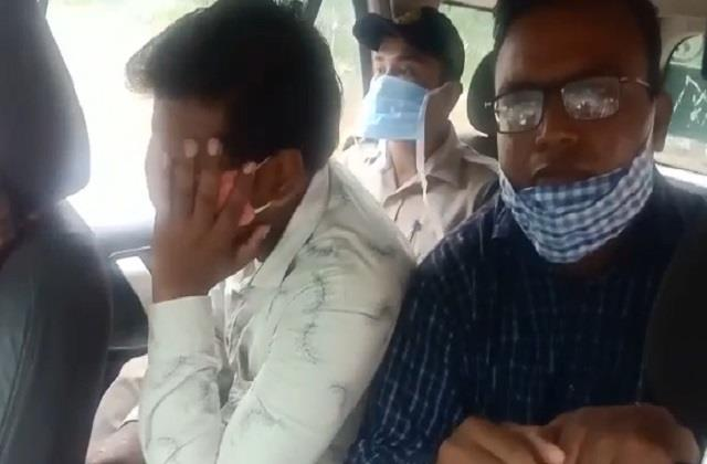 case registered against bjp leader arrived in police custody