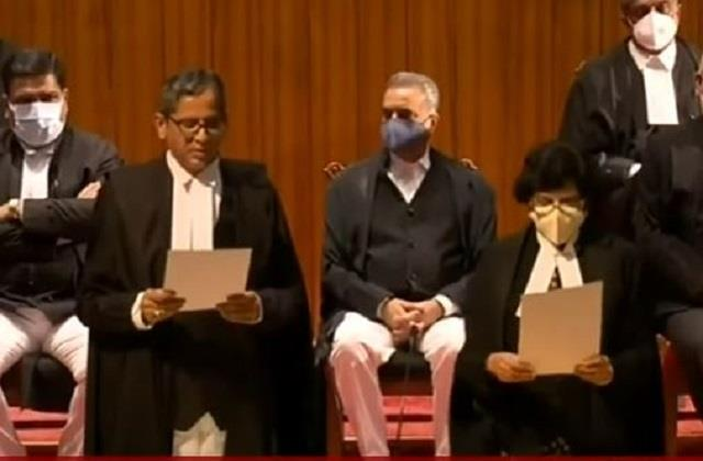 a historic step for the appointment of 9 judges in the supreme court