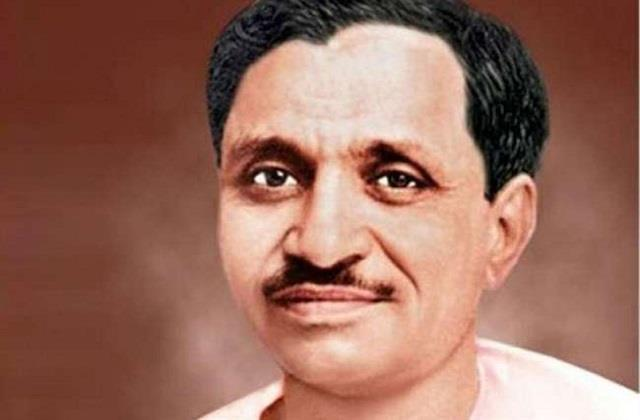 deendayal upadhyay was a more sensitive person than a politician