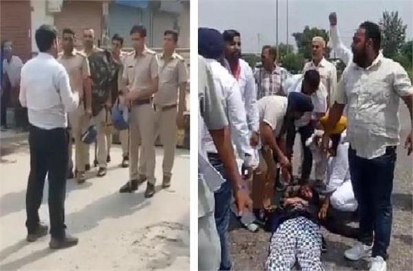 justice sn aggarwal reached karnal to investigate karnal lathi charge case