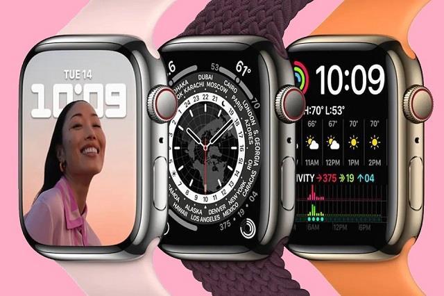 Apple Watch Series-7 हुई लॉन्च, फॉस्ट चार्जिंग के साथ मिलेंगी की सुविधाएं