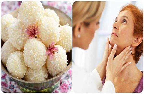 थायराइड कंट्रोल रखेंगे नारियल के लड्डू, नोट कर लें Healthy Recipe