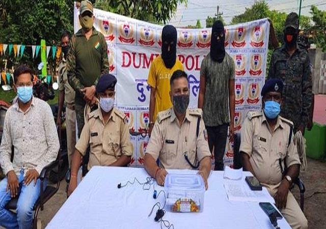 dumka 2 cyber criminals arrested during raid