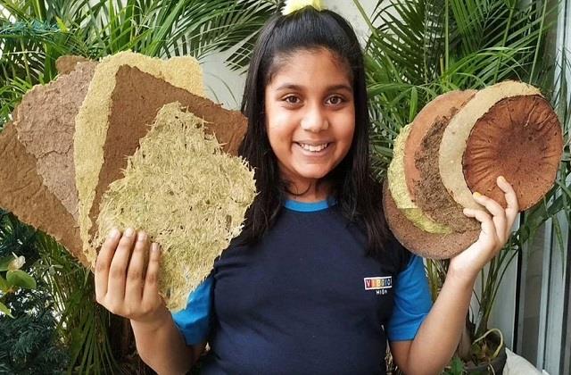 11 साल की पर्यावरण योद्धा! सब्जियों के छिलकों से पेपर बनाकर प्रकृति की कर रही देखभाल