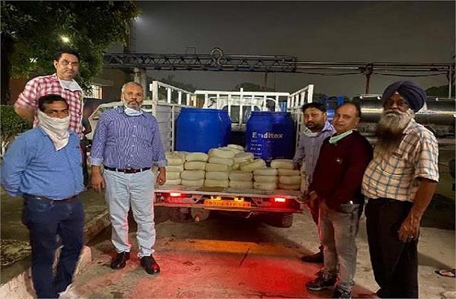 health department confiscated 60 kg desi ghee including 275 kg paneer