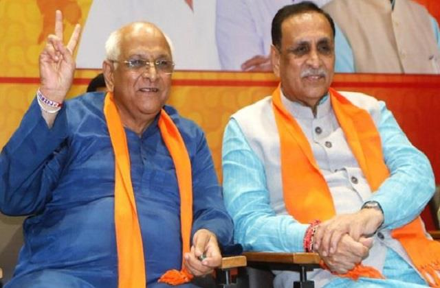 gujarat cabinet expansion new ministers will take oath today